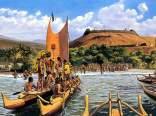 Arrival_of_Keoua_Below_Puukohola-(HerbKane)