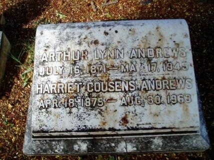 Arthur Lynn Andrews-gravestone-Oahu Cemetery