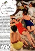 BVD Swimsuits 1934