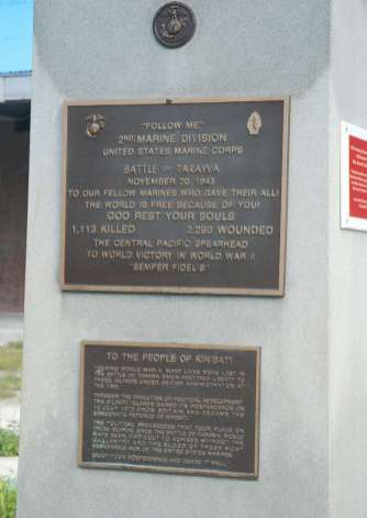 Battle of Tarawa Memorial