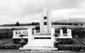 Benjamin Douglas Baldwin Monument-Faye