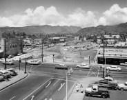 Bishop Street ended at Beretania in 1959