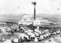 C. Brewer's Honolulu plantation mill (1898-1946) located at 'Aiea, O'ahu, ca. 1902