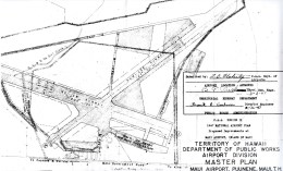 CAA Region IX, 1947 National Airport Plan, Maui Airport at Puunene, Maui Master Plan, February 26, 1947-(hawaii-gov)