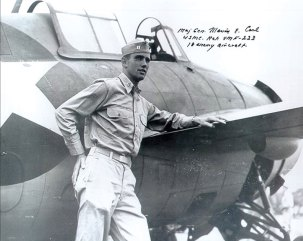 CARL-Marion-E.-Captain-USMC-with-Grumman-F4F-3-Wildcat