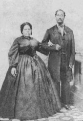 Caesar Kapaakea and Analea Keohokālole, parents of King Kalakaua and Queen Liliuokalani