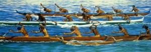 Reviving Outrigger Canoe Racing