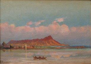 Charles_Furneaux,_Waikiki_with_a_view_of_Diamond_Head_c._1885