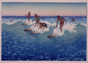 Charles_W._Bartlett_-_'Surf-Riders,_Honolulu'.,_1919
