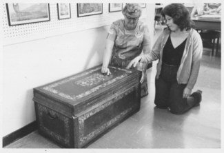 Chest of Don Francisco de Paula y Marin, later Antoinette Swan-PP-37-4-004