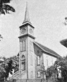 Chinese Christian Church in Honolulu. Also known as the 'Fort Street Church'-1898