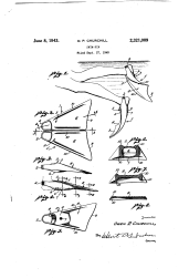Churchill Swinfin Drawing US Patent 2321009