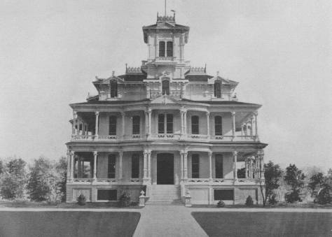 Claus Spreckels' mansion on Punahou Street in 1908
