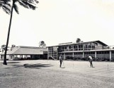 Clubhouse,-The section on the left was the old Army theater building-(waialaecc-org)-1955