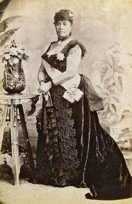 Crown Princess Liliuokalani of Hawaii photographed in London during Queen Victoria's Golden Jubilee-(WC)-c._1887