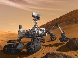 Curiosity - The Next Mars Rover-(Courtesy NASA-JPL-Caltech)