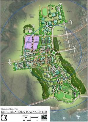 DHHL-Anahola-Town Center Illustrative-Plan