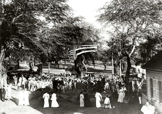 Dedication_of_BinghamTablet-1905-(Punahou Archives Photo)