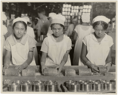 Dole Pineapple Cannery-girls