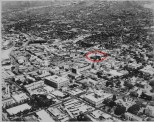 Downtown Honolulu 1938-cathedral and convent noted