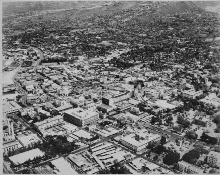 Downtown Honolulu 1938