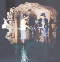 Drilling_Waiahole_Tunnel