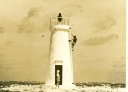 'Earhart Light' on Howland Island-1939