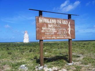 'Earhart Light' on Howland Island