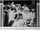 Edna Purviance, Charlie Chaplin and Robert Wagner-1917