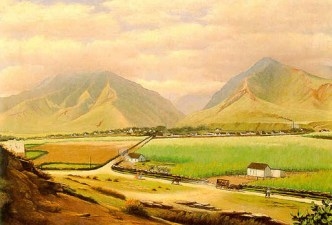 Edward_Bailey_painting_of_Wailuku_and_Iao_Valley-1900