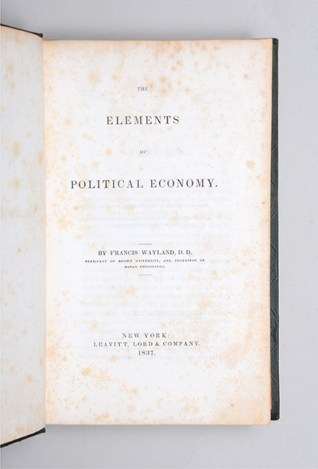Elements of Political Economy-Wayland