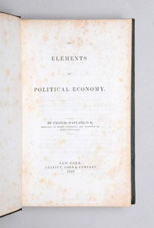 Elements of Political Economy-Wayland