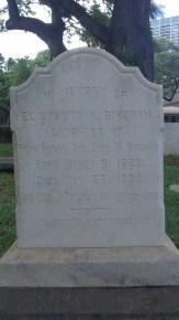 Elizabeth Kaahumanu Bingham gravestone