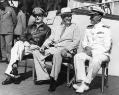 FDR in Hawaii-MacArthur, Roosevelt and Nimitz