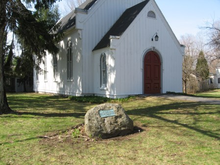 First Foreign Mission School-Marker (St. Peter's Lutheran Church)