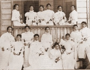 First Graduating Class of the Kamehameha School for Girls-(KSBE)-1897