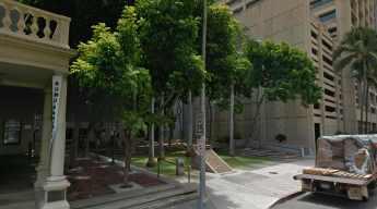 Former Honolulu Hale Site