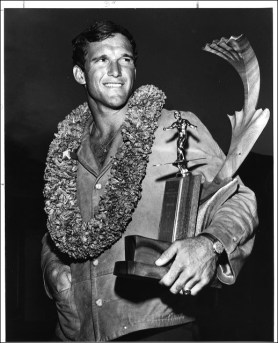 Fred Hemmings, Senior Men's champion, Makaha, 1966. Hemmings recently announced that he will not run for reelection to the Hawaii State Senate, where he served since 2000.