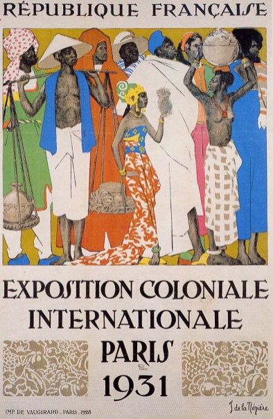 French Colonial Exposition, Paris Poster 1931