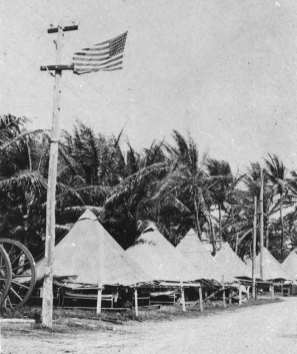 From 1908 until 1917 most of the troops at Fort DeRussy lived under canvas-(CoastDefenseJournal)