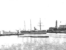 Geier in Havana in 1898