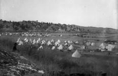 Gen Brooks camp at Pine Ridge Agcy S.D.