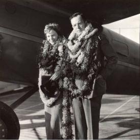 George Palmer Putnam and Amelia Earhart Putnam