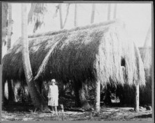 Grass house at Lalani Village, Waikiki-PP-32-4-008