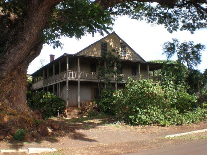 Gulick-Rowell House Waimea, Kauai