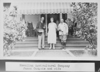 HAWAIIAN AGRICULTURAL COMPANY - JAMES COMPSIE AND WIFE