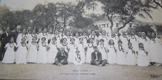 Haili Church Choir-Winner Singing Contest 1929