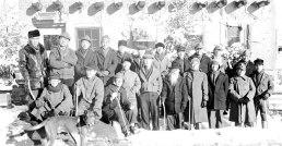 Hawai'i internee group at Sante Fe camp, 1944