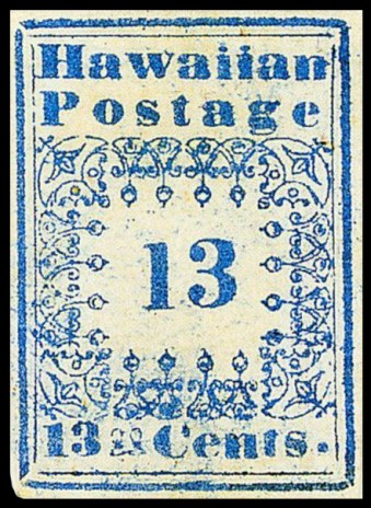 Hawaii_stamp_13c_1851