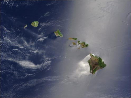 Hawaiian Islands for space-NASA